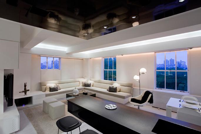 Tre esempi di luci a led nel design di interni arredica for Luci led colorate